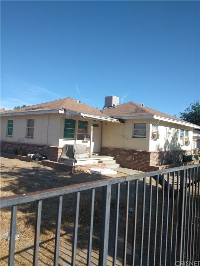 Palmdale Single Family Home For Sale: 38703 21st Street East