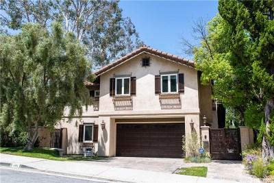 Calabasas Single Family Home For Sale: 4501 Park Verona