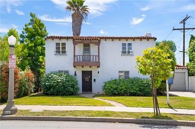 Pasadena Single Family Home Active Under Contract: 410 South Virginia Avenue