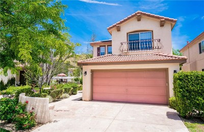 Stevenson Ranch Single Family Home For Sale: 26022 Topper Court
