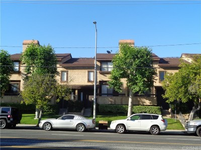 Sylmar Condo/Townhouse For Sale: 14201 Foothill Boulevard #39