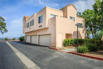Los Angeles County Condo/Townhouse Active Under Contract: 24413 Leonard Tree Lane #204