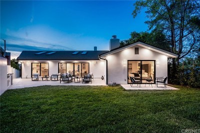 Encino Single Family Home Active Under Contract: 3554 Alginet Drive