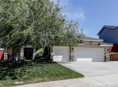 Palmdale Single Family Home Active Under Contract: 38504 Cougar