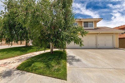Canyon Country Single Family Home For Sale: 17734 Silverstream Drive