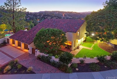 Calabasas Single Family Home For Sale: 4375 Park Vicente