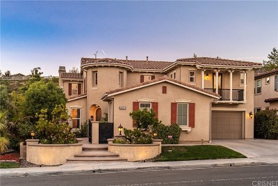 Simi Valley Single Family Home For Sale: 4017 Eagle Flight Drive