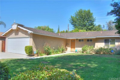 Woodland Hills Single Family Home Active Under Contract: 6314 Glide Avenue