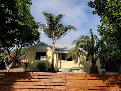 North Hollywood Single Family Home For Sale: 7900 Vantage Avenue