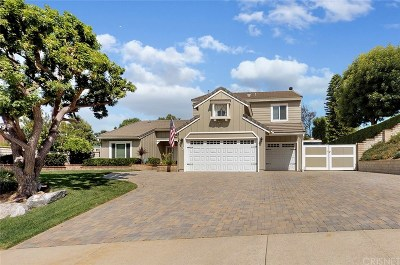 Simi Valley Single Family Home For Sale: 243 Trickling Brook Court