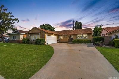 Northridge Single Family Home For Sale: 19557 Bryant Street
