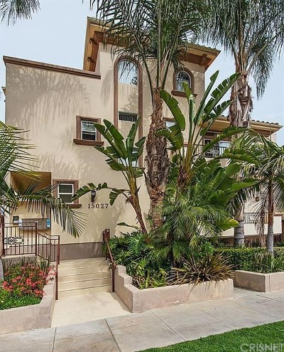 Sherman Oaks Condo/Townhouse For Sale: 15027 Dickens Street #1