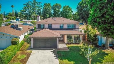 Tarzana Single Family Home For Sale: 18116 Califa Street