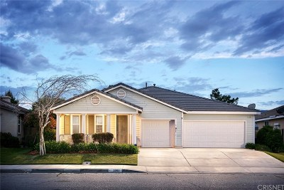 Palmdale Single Family Home For Sale: 3202 Tournament Drive