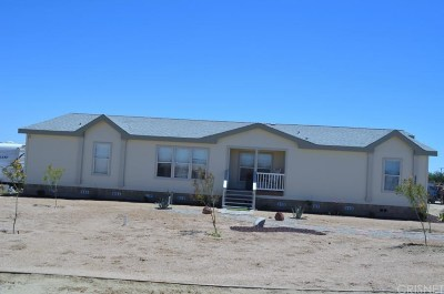 Rosamond Single Family Home For Sale: 2074 67th Street West