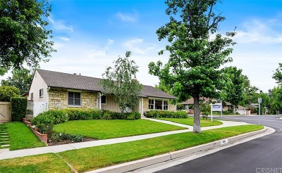 Encino Single Family Home For Sale: 4910 Texhoma Avenue