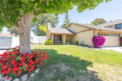 Castaic Single Family Home For Sale: 27625 Quincy Street
