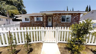 Single Family Home For Sale: 16645 Cantlay Street