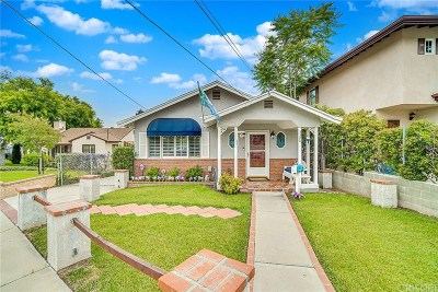La Crescenta Single Family Home For Sale: 3320 Prospect Avenue