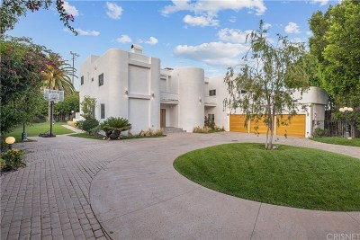 Encino Single Family Home For Sale: 17809 Twilight Lane