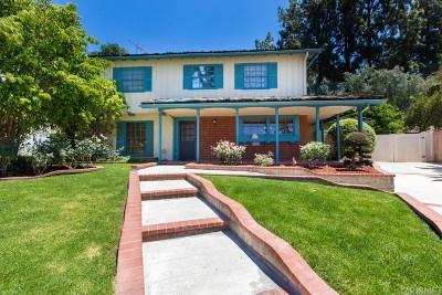 Northridge Single Family Home For Sale: 9548 Valjean Avenue