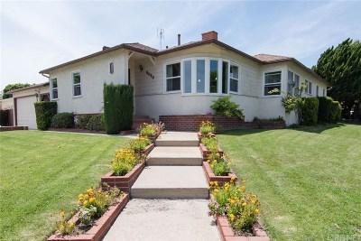 Single Family Home For Sale: 8025 Alverstone Avenue