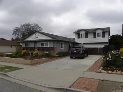 Camarillo Single Family Home For Sale: 1775 Temple Avenue