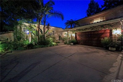 Los Angeles County Single Family Home For Sale: 7604 Willow Glen Road