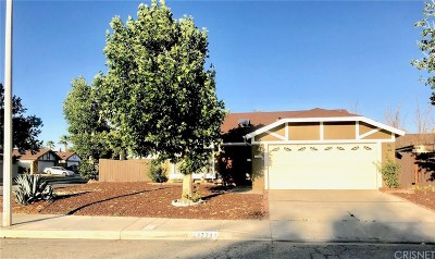 Palmdale Single Family Home For Sale: 37742 Janus Drive