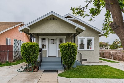 Los Angeles CA Single Family Home For Sale: $365,000