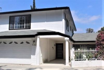 Woodland Hills Single Family Home For Sale: 5362 Tendilla Avenue
