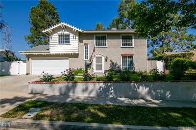 Santa Clarita, Canyon Country, Newhall, Saugus, Valencia, Castaic, Stevenson Ranch, Val Verde Single Family Home For Sale: 27938 Featherstar Avenue