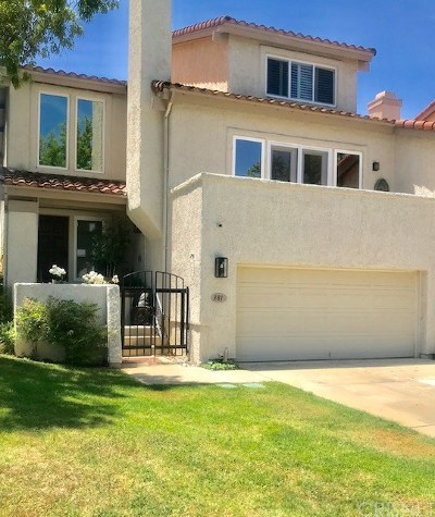 Thousand Oaks Condo/Townhouse For Sale: 381 Maidstone Lane