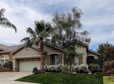 Saugus Single Family Home For Sale: 21683 Canyon Heights Circle