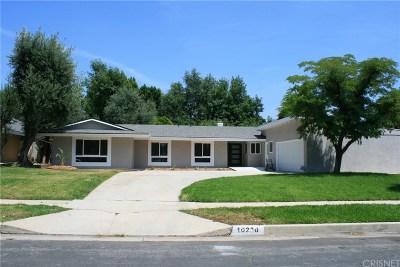 Northridge Single Family Home For Sale: 10236 Encino Avenue