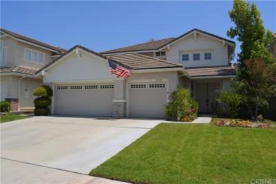 Santa Clarita, Canyon Country, Newhall, Saugus, Valencia, Castaic, Stevenson Ranch, Val Verde Single Family Home For Sale: 27339 Cheshire Lane