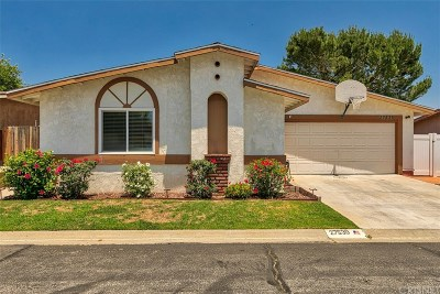 Los Angeles County Single Family Home Active Under Contract: 27539 Onyx Lane
