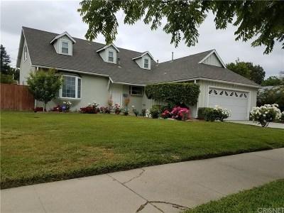Woodland Hills Single Family Home For Sale: 6451 Lubao Avenue