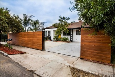 North Hollywood Single Family Home For Sale: 5741 Ensign Avenue
