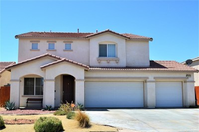 Rosamond Single Family Home For Sale: 3426 Rosegold Avenue