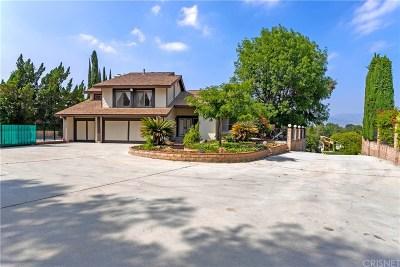 Granada Hills Single Family Home For Sale: 17454 Golden Lane