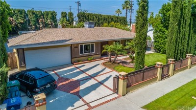 Northridge Single Family Home For Sale: 19111 Napa Street