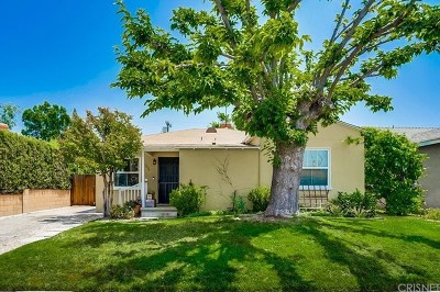 North Hollywood Single Family Home For Sale: 5524 Cartwright Avenue