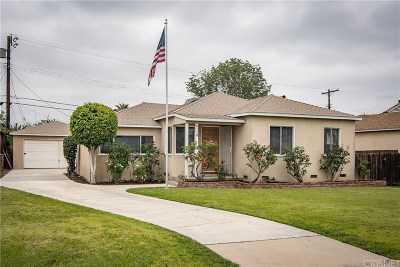 North Hollywood CA Single Family Home For Sale: $549,000