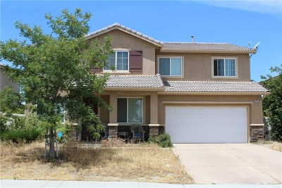 Palmdale Single Family Home For Sale: 37439 Rockie Lane