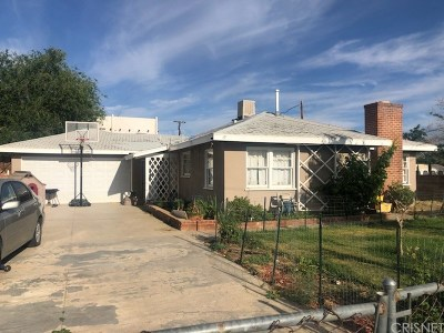 Palmdale Single Family Home For Sale: 38145 12th Street East