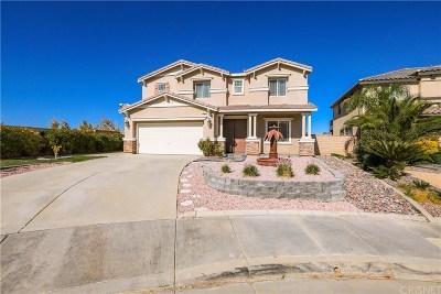 Palmdale Single Family Home For Sale: 2461 Casaba Terrace