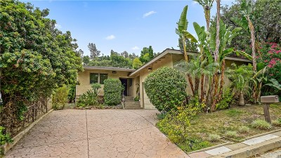Los Angeles County Single Family Home For Sale: 4030 Beverly Glen Boulevard