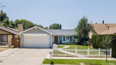 Simi Valley Single Family Home For Sale: 3888 Bayside Street