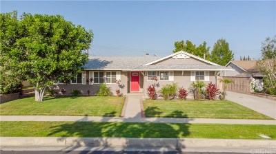 Chatsworth CA Single Family Home For Sale: $649,000